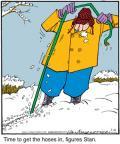 Cartoonist Jerry Van Amerongen  Ballard Street 2011-01-10 gardening