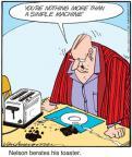 Cartoonist Jerry Van Amerongen  Ballard Street 2011-01-29 machine