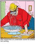 Cartoonist Jerry Van Amerongen  Ballard Street 2011-02-05 book