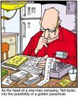 Cartoonist Jerry Van Amerongen  Ballard Street 2011-04-19 machine