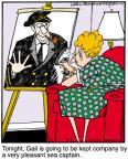 Cartoonist Jerry Van Amerongen  Ballard Street 2011-05-04 companion