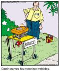 Cartoonist Jerry Van Amerongen  Ballard Street 2011-05-12 machine