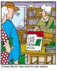 Cartoonist Jerry Van Amerongen  Ballard Street 2011-06-25 10AM