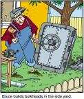 Cartoonist Jerry Van Amerongen  Ballard Street 2011-07-19 pastime