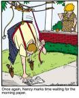 Cartoonist Jerry Van Amerongen  Ballard Street 2011-07-29 machine