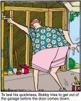 Cartoonist Jerry Van Amerongen  Ballard Street 2011-08-26 speed