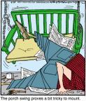 Cartoonist Jerry Van Amerongen  Ballard Street 2011-09-29 trick