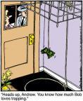 Cartoonist Jerry Van Amerongen  Ballard Street 2011-10-03 trick