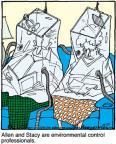 Cartoonist Jerry Van Amerongen  Ballard Street 2011-10-27 Allen