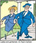 Cartoonist Jerry Van Amerongen  Ballard Street 2011-11-17 spouse