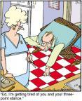 Cartoonist Jerry Van Amerongen  Ballard Street 2012-01-21 game