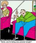Cartoonist Jerry Van Amerongen  Ballard Street 2012-01-25 trick