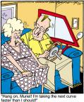 Cartoonist Jerry Van Amerongen  Ballard Street 2012-01-27 speed
