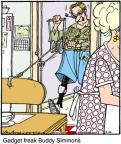 Cartoonist Jerry Van Amerongen  Ballard Street 2012-02-14 machine