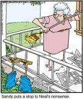 Cartoonist Jerry Van Amerongen  Ballard Street 2012-03-09 spouse