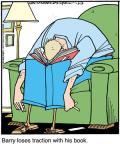 Cartoonist Jerry Van Amerongen  Ballard Street 2012-03-13 book