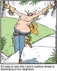 Cartoonist Jerry Van Amerongen  Ballard Street 2012-03-14 gun