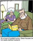 Cartoonist Jerry Van Amerongen  Ballard Street 2012-03-17 husband