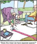 Cartoonist Jerry Van Amerongen  Ballard Street 2012-03-20 spouse