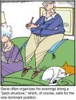 Cartoonist Jerry Van Amerongen  Ballard Street 2012-04-03 canine
