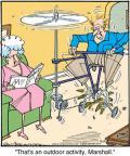 Cartoonist Jerry Van Amerongen  Ballard Street 2012-04-19 machine