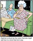 Cartoonist Jerry Van Amerongen  Ballard Street 2012-04-24 she