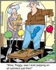 Cartoonist Jerry Van Amerongen  Ballard Street 2012-05-12 speed