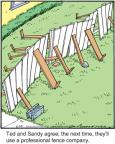 Cartoonist Jerry Van Amerongen  Ballard Street 2012-06-23 fence