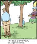 Cartoonist Jerry Van Amerongen  Ballard Street 2012-07-19 game playing