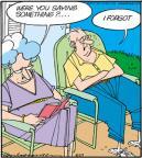 Cartoonist Jerry Van Amerongen  Ballard Street 2012-08-23 spouse