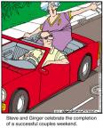 Cartoonist Jerry Van Amerongen  Ballard Street 2012-10-02 spouse