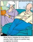 Comic Strip Jerry Van Amerongen  Ballard Street 2012-10-25 bliss