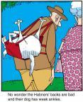 Cartoonist Jerry Van Amerongen  Ballard Street 2012-10-30 bad dog