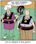 Cartoonist Jerry Van Amerongen  Ballard Street 2012-11-17 game playing