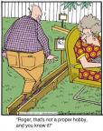 Cartoonist Jerry Van Amerongen  Ballard Street 2012-11-23 pastime