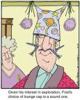 Comic Strip Jerry Van Amerongen  Ballard Street 2012-12-04 hat