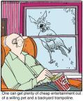 Cartoonist Jerry Van Amerongen  Ballard Street 2013-01-14 pet