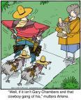 Cartoonist Jerry Van Amerongen  Ballard Street 2013-01-18 isn't