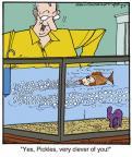 Cartoonist Jerry Van Amerongen  Ballard Street 2013-03-07 trick