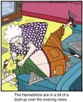 Comic Strip Jerry Van Amerongen  Ballard Street 2013-04-19 television