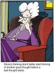 Cartoonist Jerry Van Amerongen  Ballard Street 2013-05-16 she