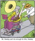 Cartoonist Jerry Van Amerongen  Ballard Street 2013-06-05 spouse