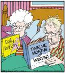 Cartoonist Jerry Van Amerongen  Ballard Street 2013-06-18 spouse