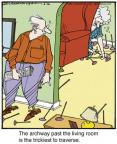 Cartoonist Jerry Van Amerongen  Ballard Street 2013-06-26 game playing