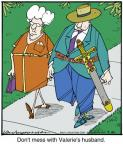 Cartoonist Jerry Van Amerongen  Ballard Street 2013-07-30 husband