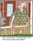 Cartoonist Jerry Van Amerongen  Ballard Street 2013-08-16 hey