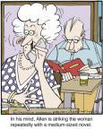 Cartoonist Jerry Van Amerongen  Ballard Street 2013-08-29 Allen