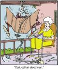 Comic Strip Jerry Van Amerongen  Ballard Street 2013-09-05 home maintenance
