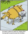 Cartoonist Jerry Van Amerongen  Ballard Street 2013-09-09 machine