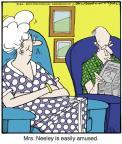Cartoonist Jerry Van Amerongen  Ballard Street 2013-09-21 read